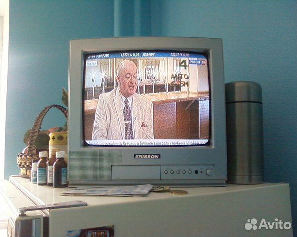 Рабочий телевизор ЭЛТ Erisson