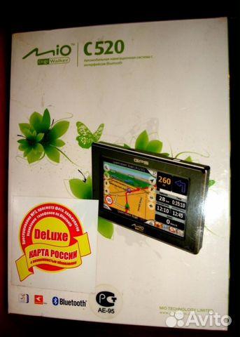 Mio C520 Карты