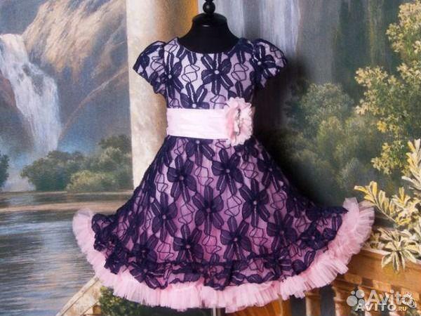 Платье американка для девочки