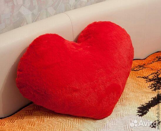 Как сшить подушку в виде сердца своими