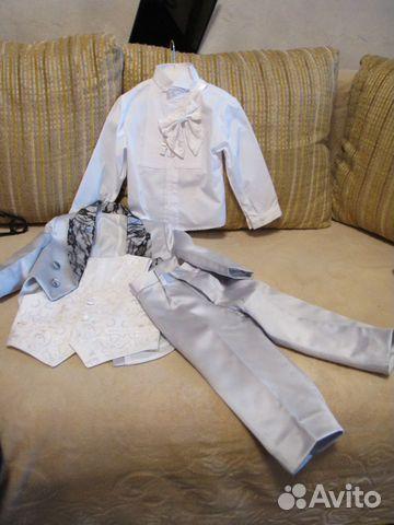 Праздничный костюм-фрак для маленького джентельмен