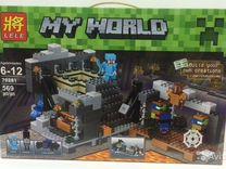 Конструктор lele 79281 MY world 569 деталей