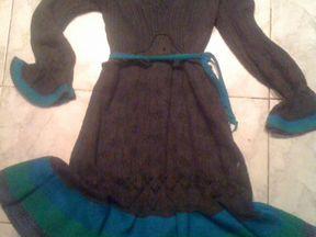 Немецкое платье трикотажное