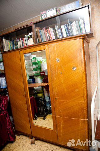 Шкаф гардероб с зеркалом трехстворчатый купить в москве на a.
