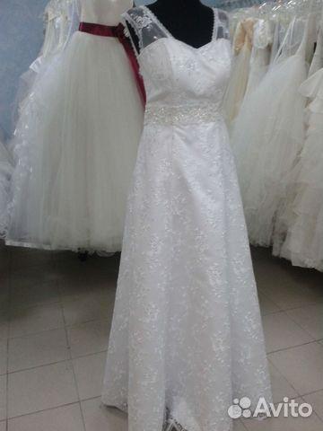 Свадебные платья больших размеров авито