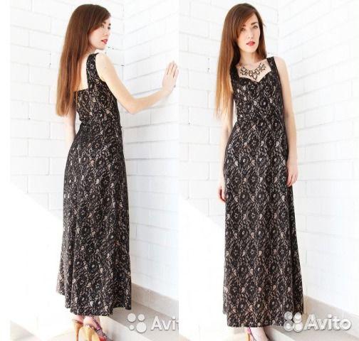 c25b54cf98f Гипюровое платье May be ххs бежевое