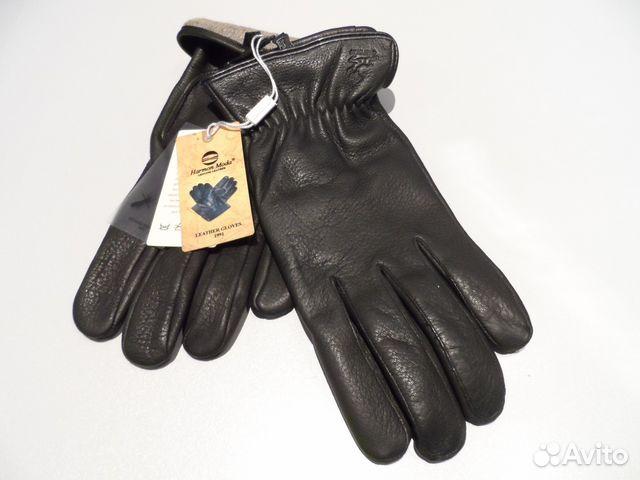 281f33f3bea Перчатки кожаные мужские сенная