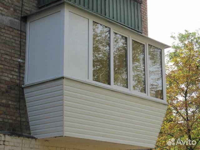 Фото остекление балкона в киеве евробалконы.