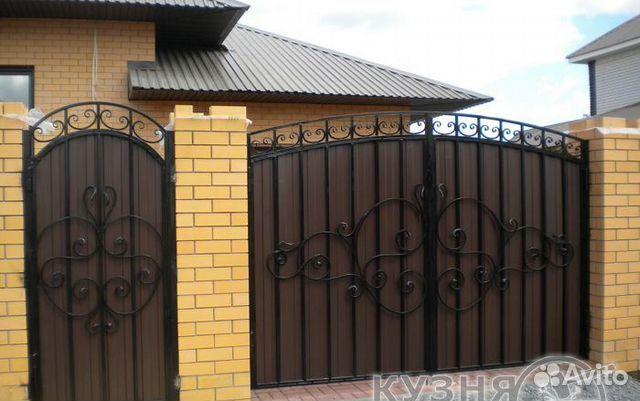 Ворота распашные в с петербурге ворота в вано франквськ