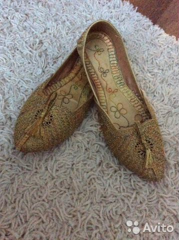 Туфли из Индии