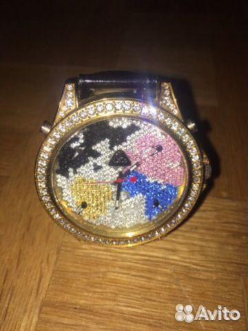 Купить часы женские с кристаллами сваровски часы касио протрек титановые купить