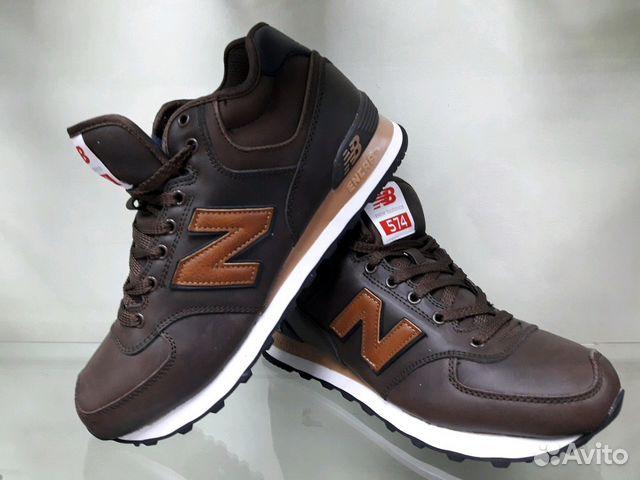 8b5360a5 Зимние кроссовки NB Braun Leather нат.мех | Festima.Ru - Мониторинг ...