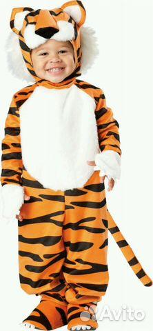 Карнавальный новогодний костюм детский тигр  e47728c6ed77f