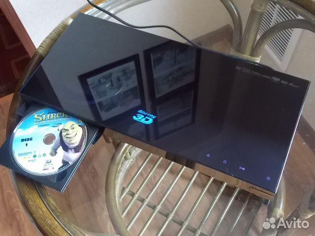 3D Blu-Ray плеер SAMSUNG+очки (3пар) + 4BD+ресивер 89517197934 купить 1