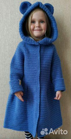 вязаное пальто для девочки Festimaru мониторинг объявлений