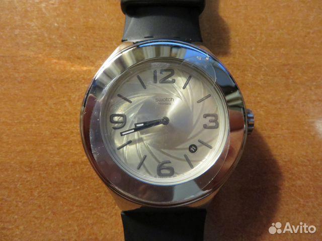 Наручные мужские кварцевые часы swatch r через