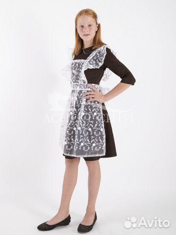 Комплект платье и фартук, 15-083к купить в Москве на Avito ... a652539e4b6