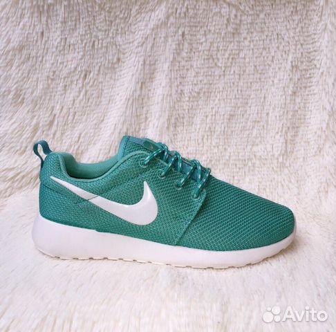Кроссовки Nike RosheRun бирюзовые Женские зеленые 99c792f3e4f