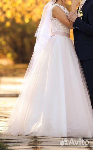 9668309da34 Красивое свадебное платье купить в Алтайском крае на Avito ...