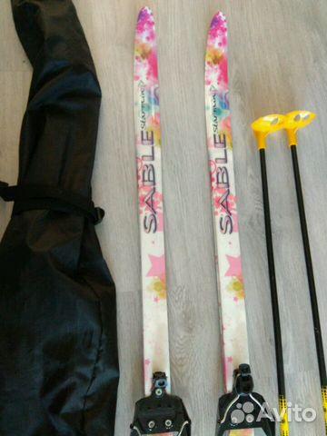 Беговые лыжи и ботинки 34р— фотография №1. Адрес  Санкт-Петербург ... 526b87c8d2e