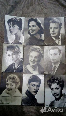 Авито открытки актеров, картинки