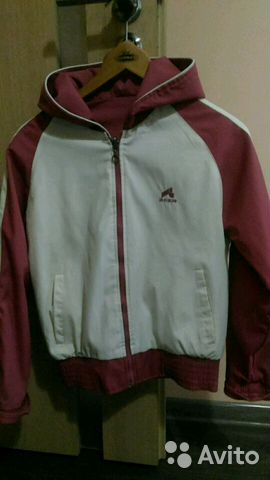 854fbb0ca5b7f Курточка, двухсторонняя ветровка, плотная | Festima.Ru - Мониторинг ...