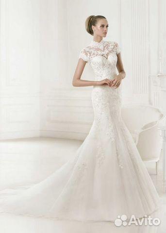 c9f592a5105 Свадебное платье со шлейфом прокат А1888, S купить в Санкт ...