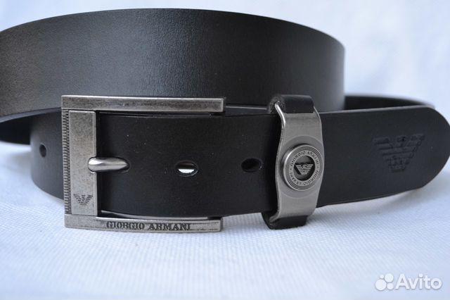 84dbfc4d1a0a Ремень Giorgio Armani натуральная кожа