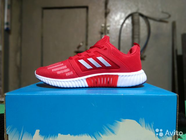 san francisco d1486 2089c Кроссовки Adidas Only Red Climacool V2 арт-E31 45p