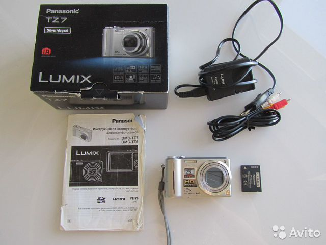 Фотоаппарат Panasonic Lumix DMC-TZ7 новый