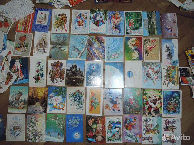 Коллекционер почтовых открыток и карточек, день