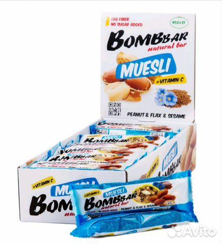 Мюсли bombbar купить 2