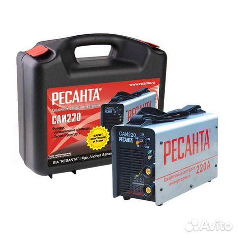 Сварочный аппарат инверторный саи-220 в кейсе купить 1