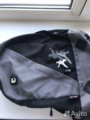 Рюкзак черный спорт
