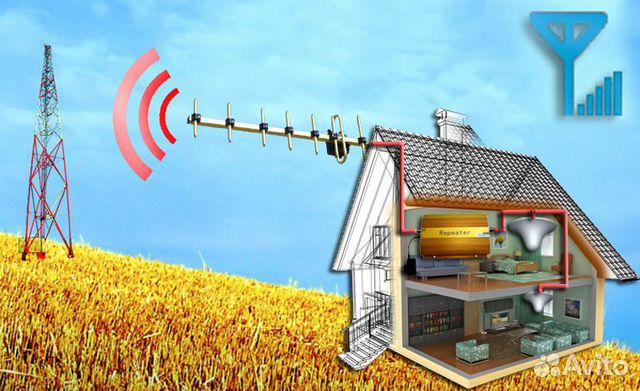 Усилитель сотовой мобильной связи 2G 3G 4G LTE 89040336160 купить 7