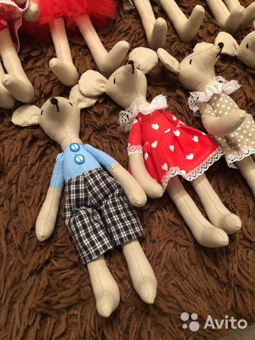 Кукла тильда мышка  89064096764 купить 6