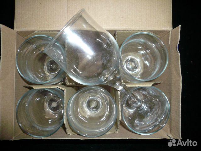 A set of wine glasses
