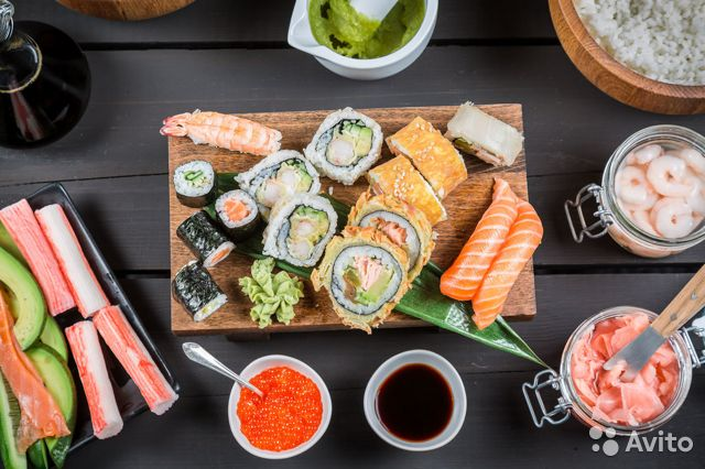 Sell ready business. Sushi delivery, pizza