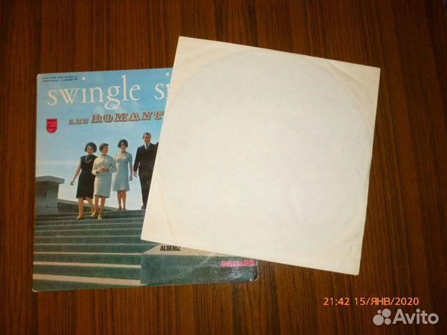 Винил swingle singers. LES romantiques. 1965 г 89095451578 купить 3
