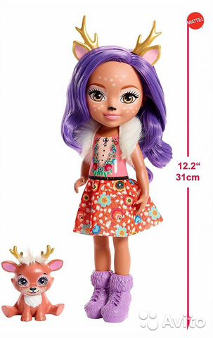 Enchantimals большая Кукла 31см в ассорт  89062132153 купить 4