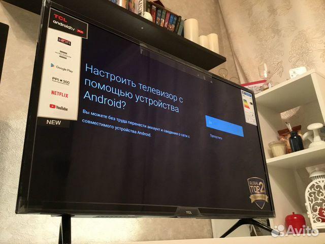 Смарт телевизор с голосовым управлением 32(новый) купить 5