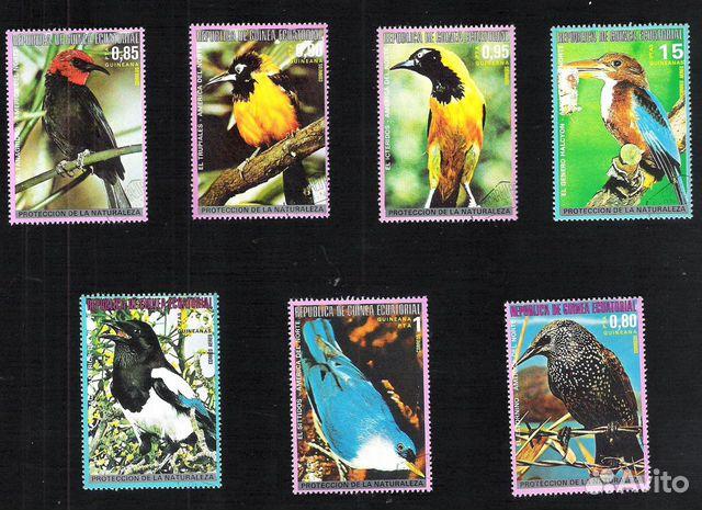 Почтовые марки Гвинеи Экваториальной 89275328672 купить 6
