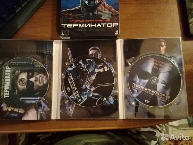 Трилогия Терминатор в отличном состоянии  89518400132 купить 3