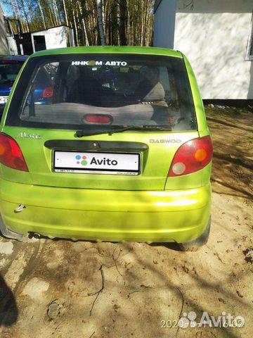 Daewoo Matiz, 2008 89092669733 купить 1
