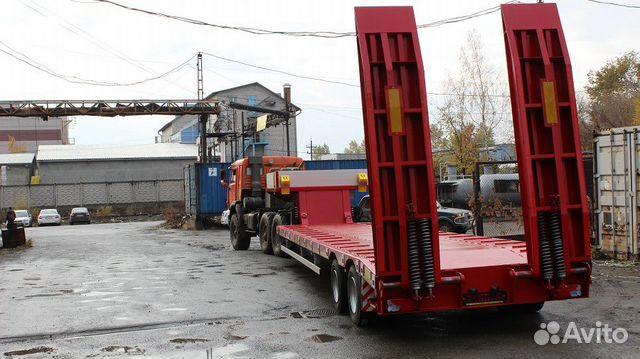 Трал низкорамный 30 тонн