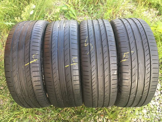 89211101675 255/55 R19 Continental ContiSportContact5
