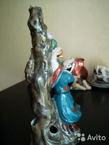 Фарфоровая статуэтка, старый Китай 89525864922 купить 3