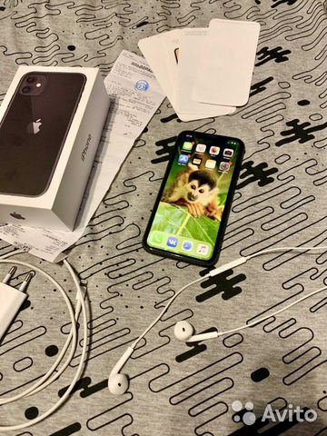 iPhone 11, 64gb (На гарантии)  89534331571 купить 1