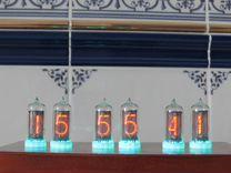 Часы на газоразрядных индикаторах Wi-Fi управление
