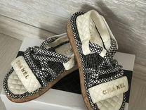 Босоножки сандали Chanel